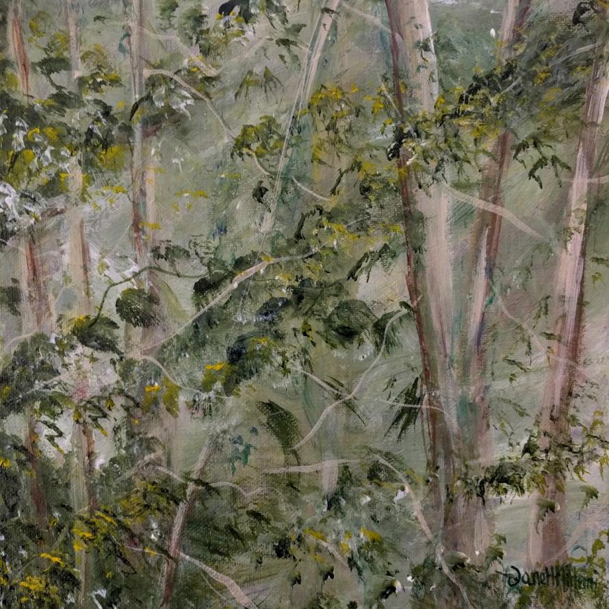 Painting LUSH by Janell Mithani