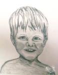 Sketch of boy