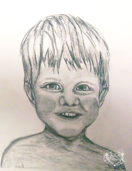 Sketch of boy