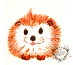 Hedgehog drawing by Janell MIthani