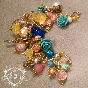 Charm bracelet for Sue by Janell Mithani