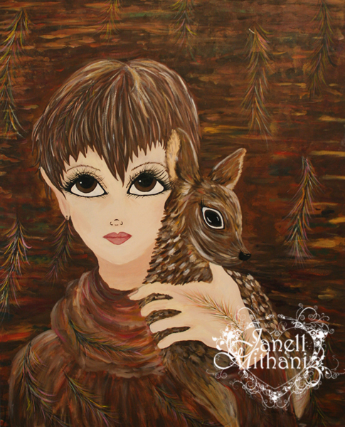 DOE painting by Janell Mithani