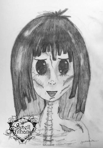 Halloween Manga Girl