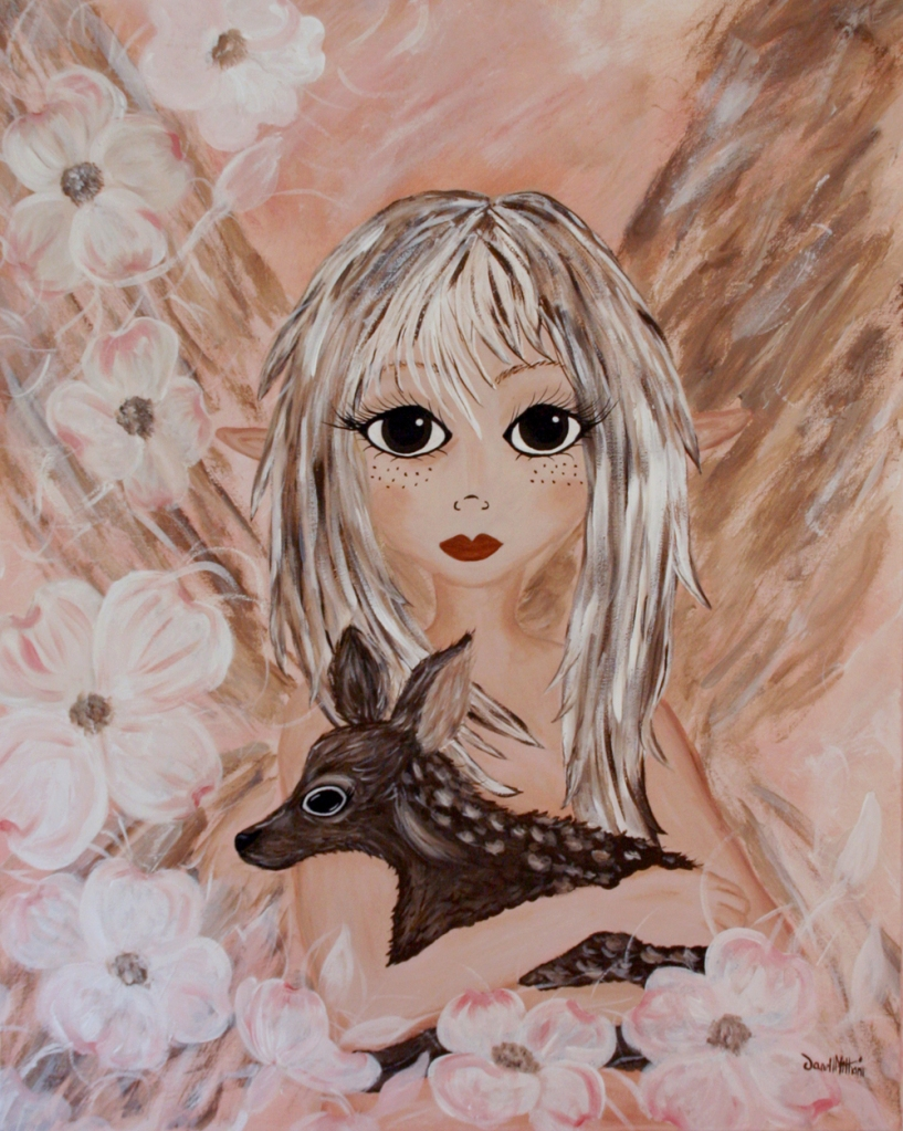 FAWN painting by Janell MIthani