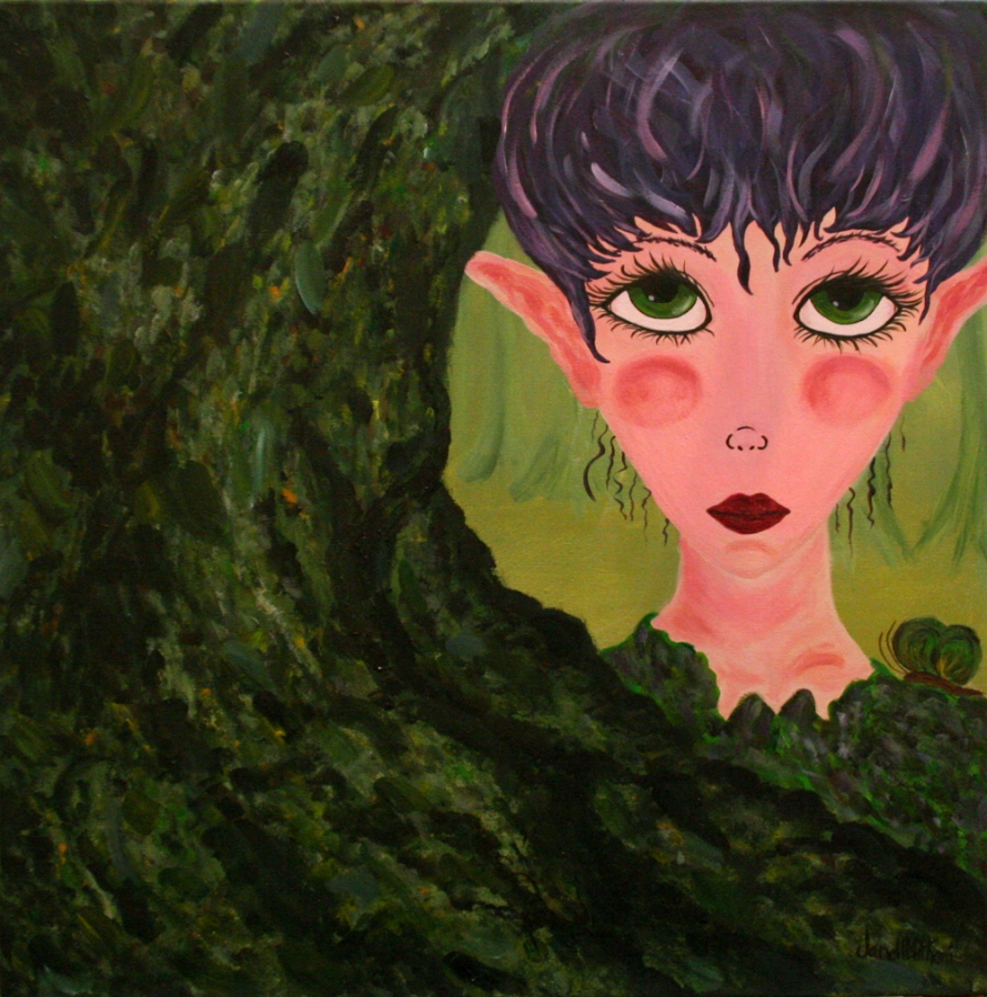 MOSS painting by Janell Mithani