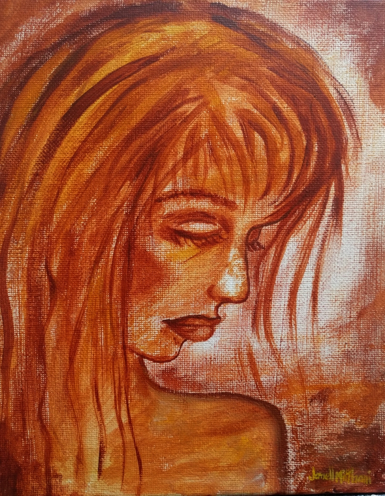 REFLECTIONS painting by Janell Mithani