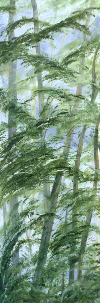 tree painting Janell Mithani